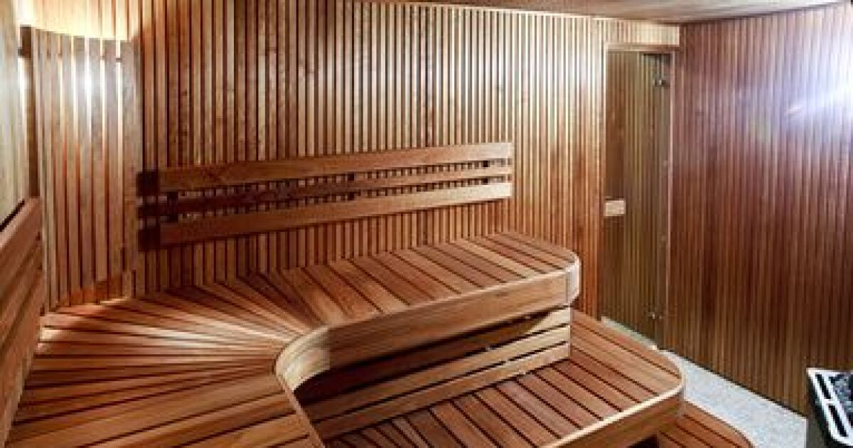 la cabine de sauna finlandais. Black Bedroom Furniture Sets. Home Design Ideas