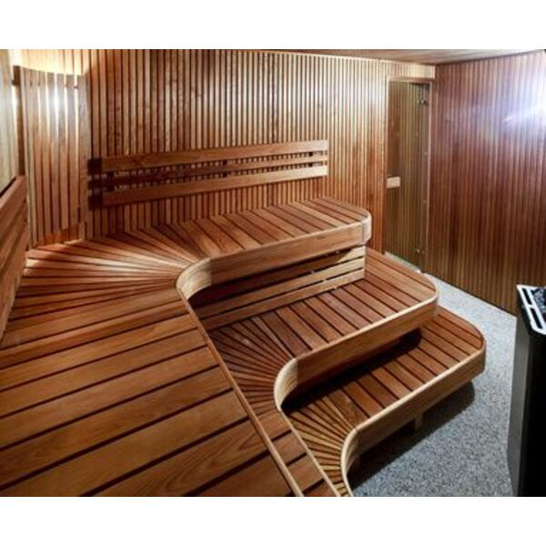 la cabine de sauna finlandais. Black Bedroom Furniture Sets. Home Design Ideas