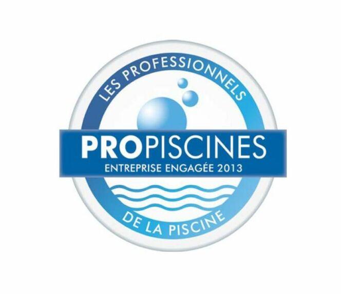 """La charte Propiscines ® de la FPP : Gage de professionnalisme et de qualité !<span class=""""normal italic petit"""">© Logo Propiscines®</span>"""