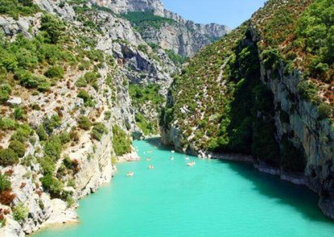 La cure thermale en région PACA peut être l'occasion de (re)découvrir les Gorges du Verdon