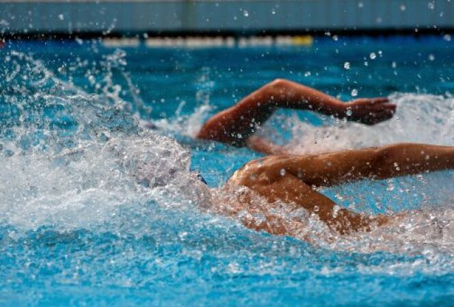"""La flottabilité en natation<span class=""""normal italic petit"""">DR</span>"""