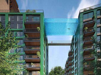 Les piscines suspendues