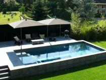 La législation sur les piscines semi-enterrées