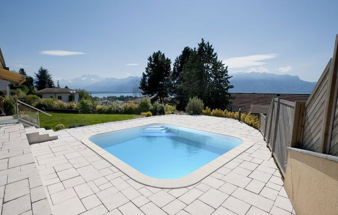 "La mini piscine Anna, par Waterair<span class=""normal italic petit"">© Waterair</span>"