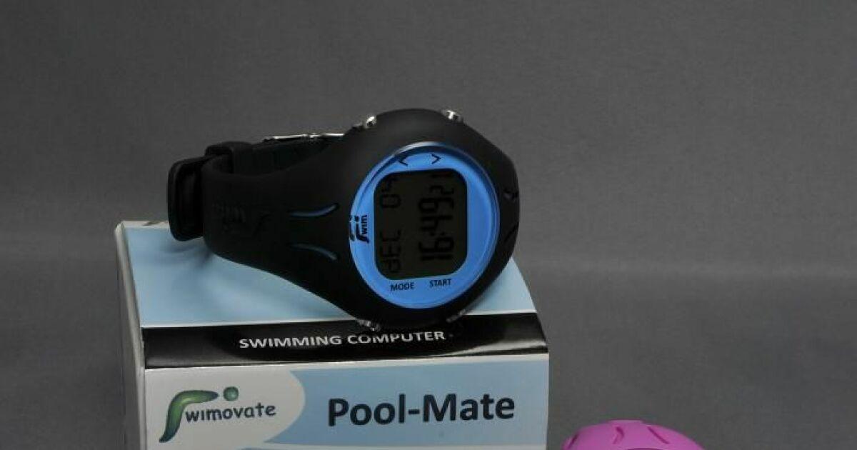 la montre poolmate par swimovate  pour l u0026 39 entra u00eenement  u00e0 la