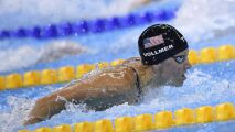 Impressionnant : Elle nage en compétition... enceinte