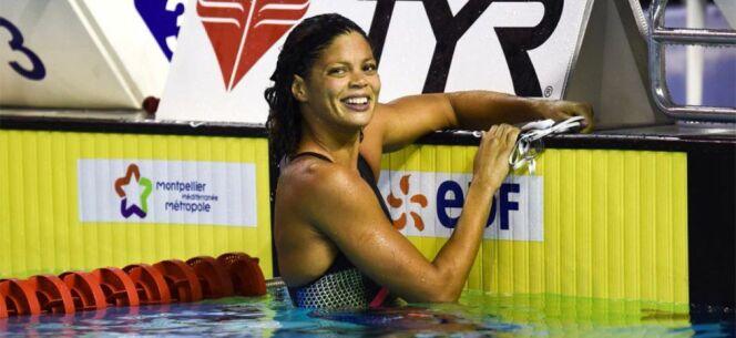"""La nageuse Coralie Balmy est une ancienne championne européenne. <span class=""""normal italic petit"""">DR</span>"""