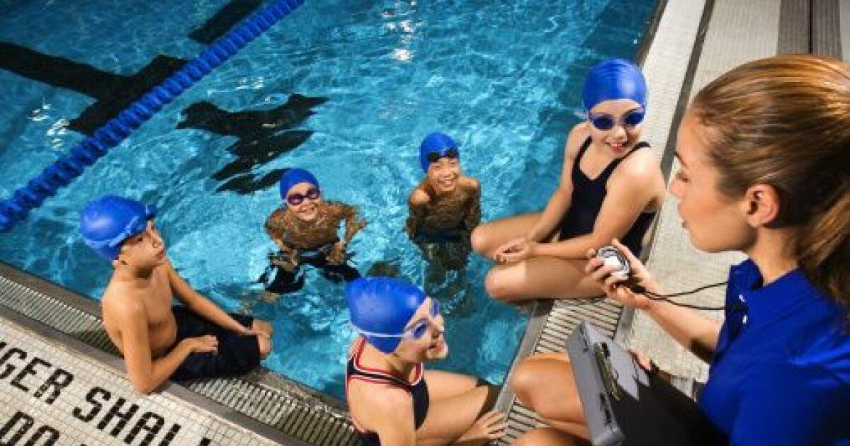 La natation au coll ge exercices programme notation for Piscine pour apprendre a nager