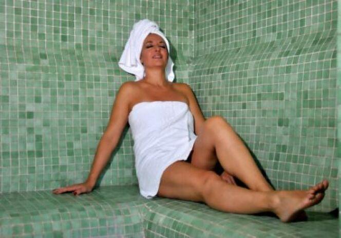 La nudité dans les hammams