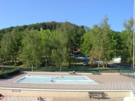 La pataugeoire de la piscine d'Arbois