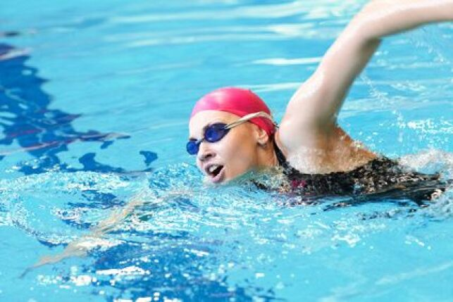 La perche de nage
