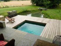 Photos de piscines carrées