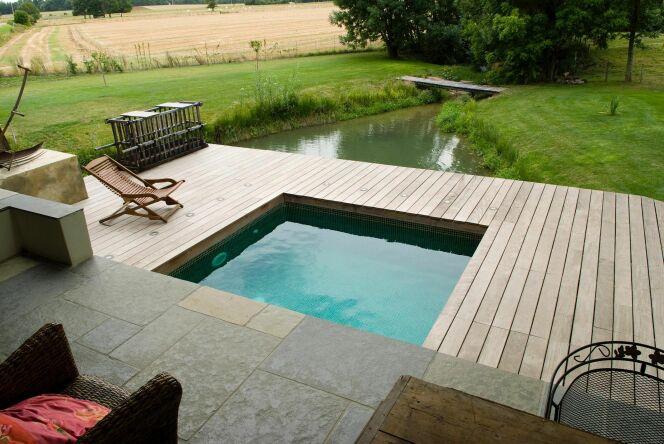 Photos de mini piscines et piscines de petite taille pour for Dimension piscine