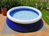 La piscine autoportée