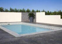 La piscine Bermudes : coque à fond incliné par Mediester