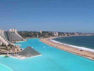 La piscine d'Algarrobo : l'une des plus grandes du Monde