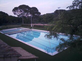 La piscine d'Uzès