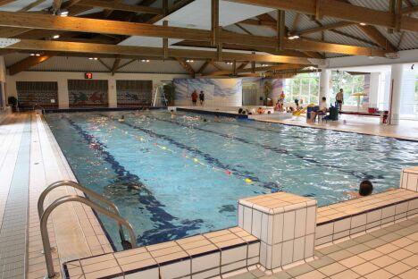 """La piscine de Guéméné Penfao<span class=""""normal italic petit"""">© Communauté de Communes du Pays de Redon</span>"""