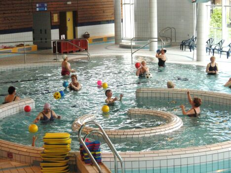 """La piscine de Guingamp propose plusieurs activités<span class=""""normal italic petit"""">DR</span>"""