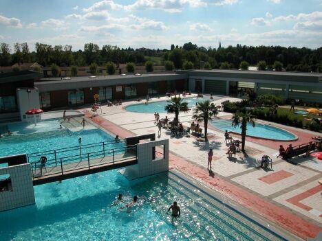 La piscine de Malafretaz