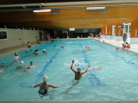 """La piscine de Seyssinet Pariset<span class=""""normal italic petit"""">© service communication, ville de Seyssinet-Pariset</span>"""