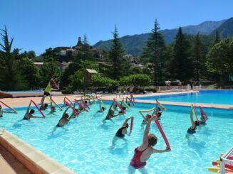 La piscine de Vernet les Bains propose des cours d'aquagym