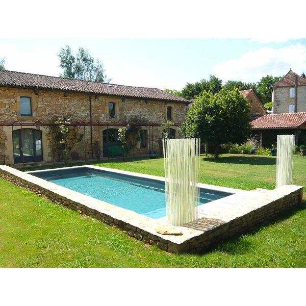 La Maison De Piscine Design Et Le Cabane En Bois Le Pool House En  ~ Cabane Piscine Bois