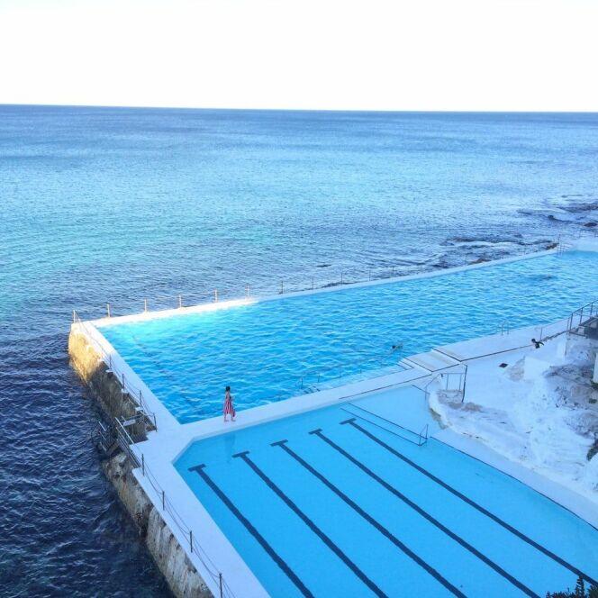 La piscine du Bondi Icebergs Club par temps calme