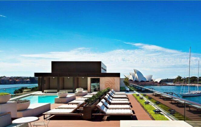 La piscine du Park Hyatt à Sydney © Facebook Park Hyatt Sydney