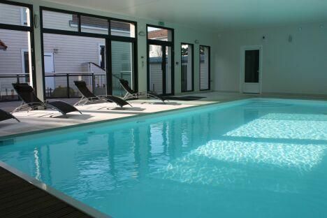 La piscine du Résid'Spa Loire et Sèvre à Rezé