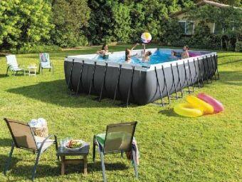 La piscine hors-sol : une solution rapide et accessible pour profiter de son jardin
