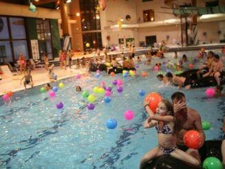 La piscine intérieure du centre aquatique à Villard de Lans