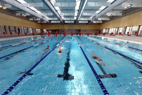 """La piscine Jean Pommier à Valence<span class=""""normal italic petit"""">DR</span>"""