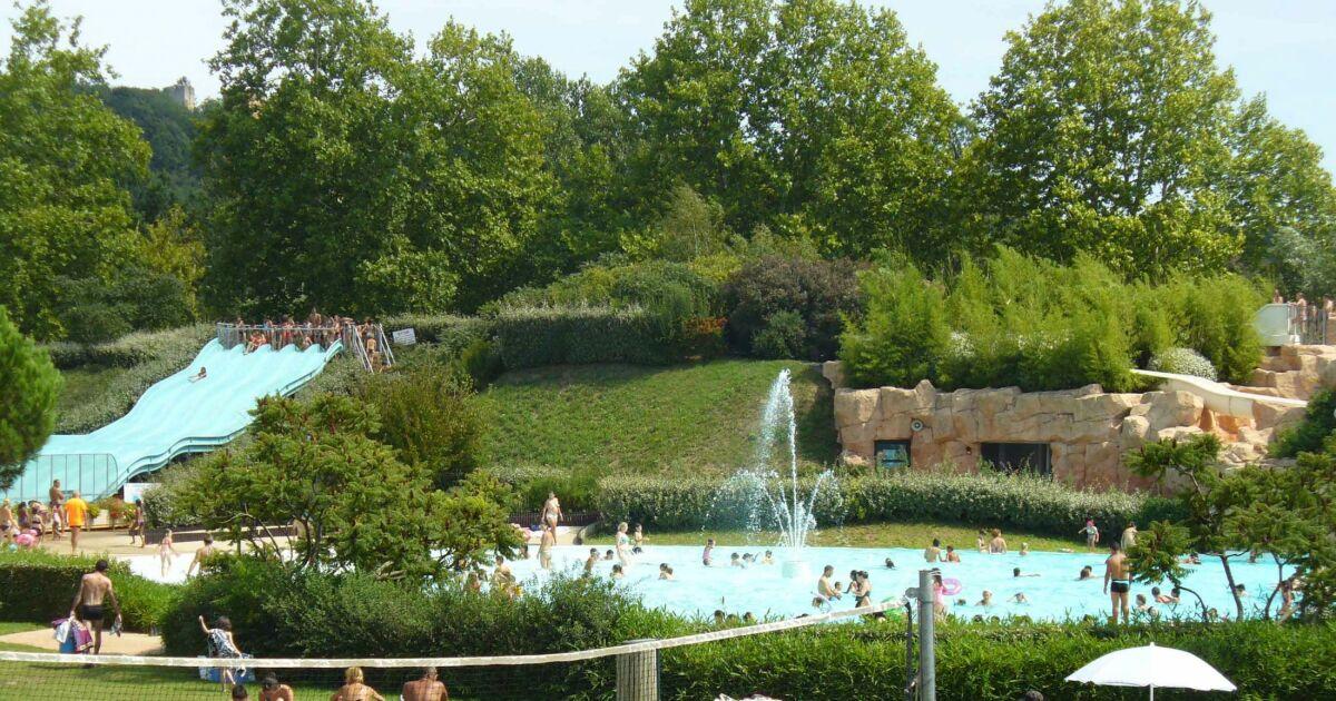 Base de loisirs les cascades tr voux horaires tarifs for Piscine du lac tours tarif