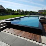 Les plus belles piscines rectangulaires en photo