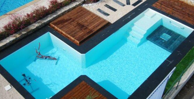 La piscine Odalia 2 en 1 « Sport & Bien-être » par Génération Piscine