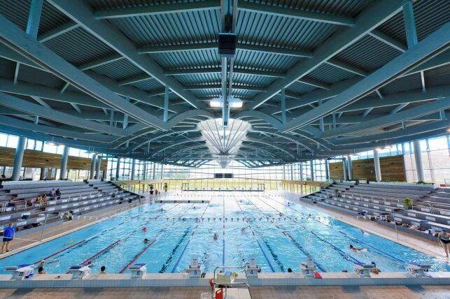 La piscine olympique de Dijon