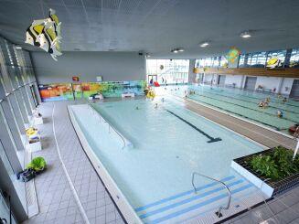 La piscine olympique de Dijon possède plusieurs bassins.