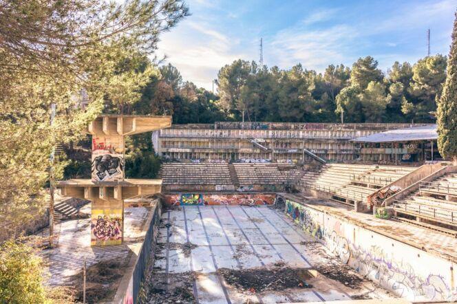 La piscine Olympique de la Vega, immortalisée par des explorateurs urbains