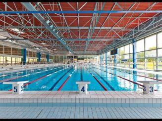 La piscine olympique du complexe aquatique de Vittel