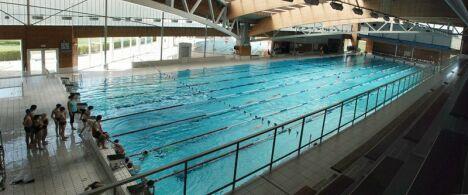 """La piscine olympique Roger Gougon à Epinal<span class=""""normal italic petit"""">DR</span>"""