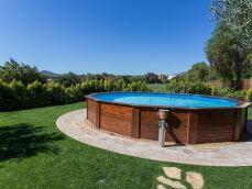 La piscine ovale hors sol : un format original