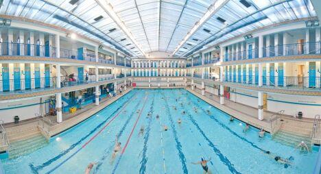 """La piscine Pontoise à Paris<span class=""""normal italic"""">© Gérard Sanz / DJS / Mairie de Paris</span>"""