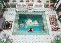 La piscine qui prend Instagram d'assaut
