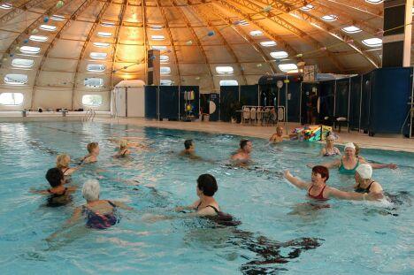 La piscine Tournesol à Valence