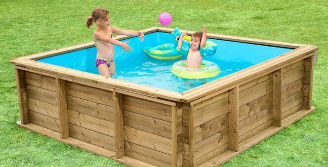 La Pistoche, piscinette pour enfants, par Procopi