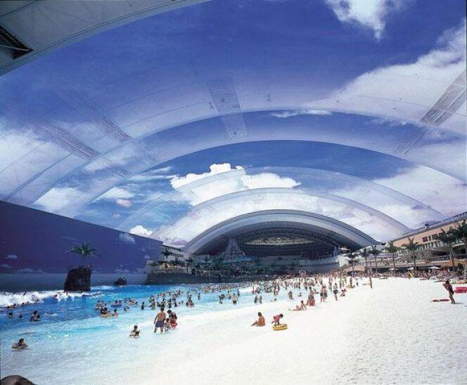 La plus grande piscine couverte du monde !