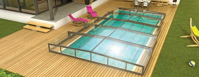 "La pose d'un abri de piscine à 1 € avec Abri de Piscine Rideau !<span class=""normal italic petit"">© Abri de Piscine Rideau</span>"