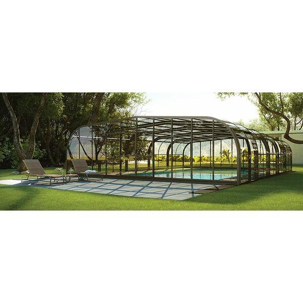 La pose d un abri de piscine 1 avec abri de piscine rideau - Abris de piscine rideau ...