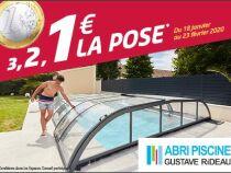 La pose de votre abri pour 1€* seulement !